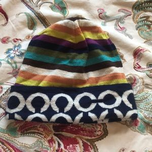 Multi Color Coach Bennie / Hat